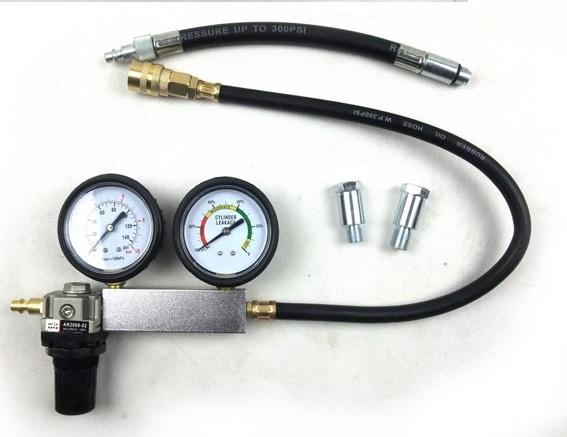 Cylinder Leak Down Test : Engine cylinder leakage tester