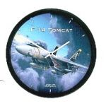 "Aircraft Wall Clocks 10"" - F14 Tomcat"