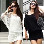 Batwing 3/4 Sleeve Blouse and Dress