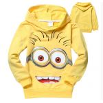 Despicable Me Long Sleeve Hooded Shirts