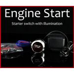 Keyless LED Engine Ignition Push Start Button