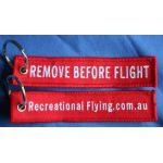 Key Chain - Remove Before Flight