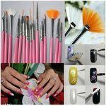 Nail Art Brush Set - 15pc