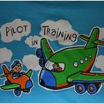 Little Co-pilot T-Shirt - Pilot In Training