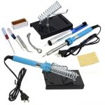 60W 9 in1 Electric Soldering Iron Tool Kit
