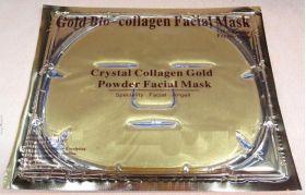 Gold Crystal Collagen Facial Mask