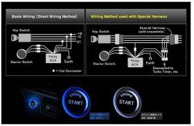 Keyless LED Engine Ignition Push Start Button