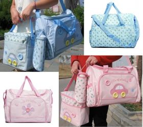 Mother and Baby Bag - 4pc