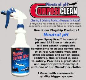 Composiclean Spray Wax - 3.75ltr