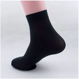 Black Socks Ultra Thin for Summer - 4 pair