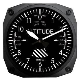 """Instrument Wall Clocks 6.5"""" - Altimeter"""