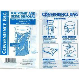 Motion Sickness and Urine Bag