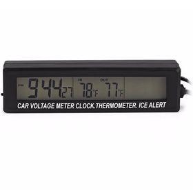 Digital 3 in 1 Clock Voltage Air Temp