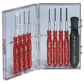 Hex Screwdriver Set PS-89 9-piece, crescent